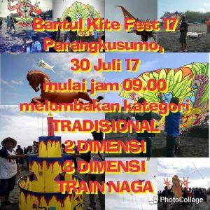 Festival Layang-Layang se-Nasional akan diselenggaran Juli ini !