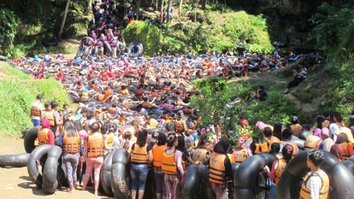 Wisata misteri di Gua Pindulm Gunung kidul Yogyakarta