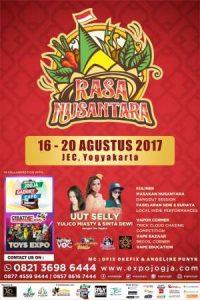 Festival Rasa Nusantara di JEC 16-20 Agustus 2017