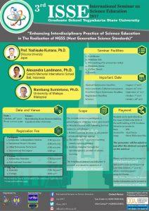 3rd International Seminar on Science Education (ISSE) 2017