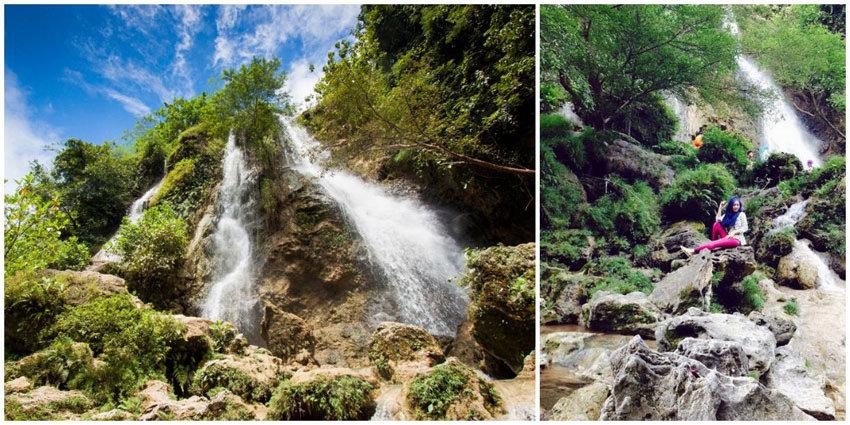 Pesona Air Terjun Sri Gethuk di Gunung Kidul yang Bersumber dari Tiga Mata Air yang Berbeda