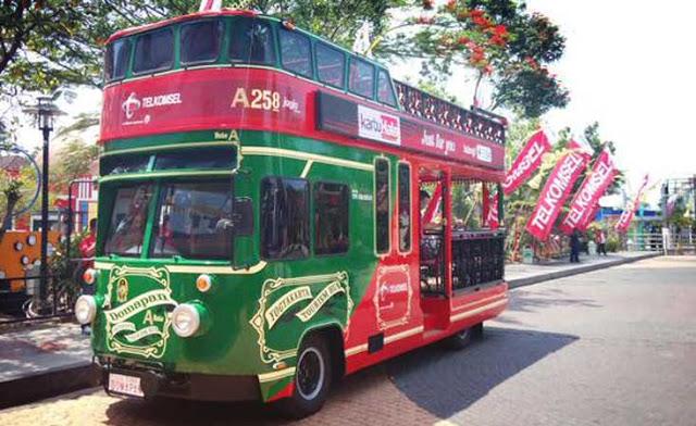 Bus Pariwisata Domapan Tingkat Akan Diberi Pelat Hitam