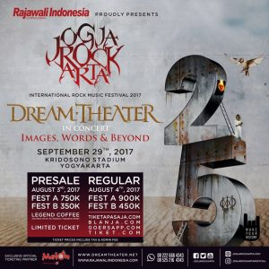 Band Rock Progressive dari Negeri Paman Sam Dream Theatre