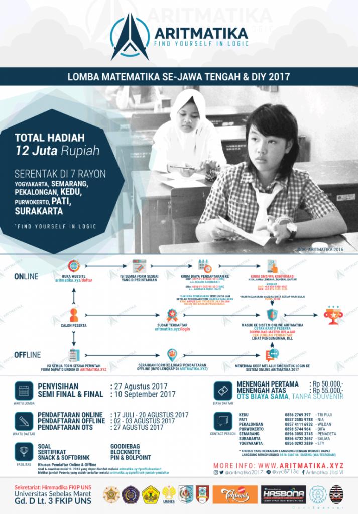 Lomba Aritmatika SMP/SMA Se-Jawa Tengah 2017