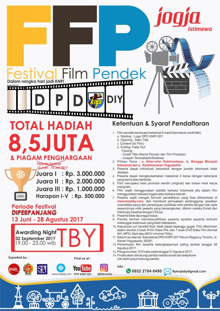 Berkarya Bersama Festival Film Pendek KNPI DIY