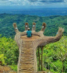 "Sensasi selfie di ""Rumah Indian"" bantul, Yogyakarta"