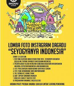"Lomba Foto Dagadu Djokdja ""Seyogyanya Indonesia"""