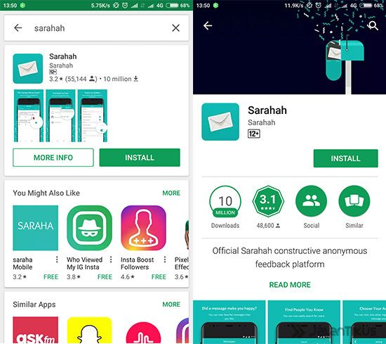 Para Netizen Geger Aplikasi Smartphone Baru Sarahah