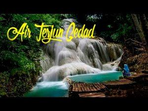 air terjun gedad gunung kidul yogyakarta