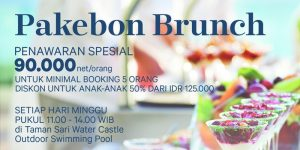 FREE RESERVATION: Pakebon Brunch