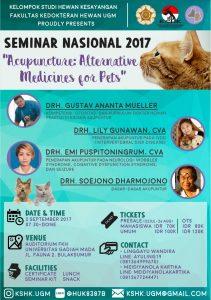 Seminar Nasional Akupuntur KSHK FKH UGM