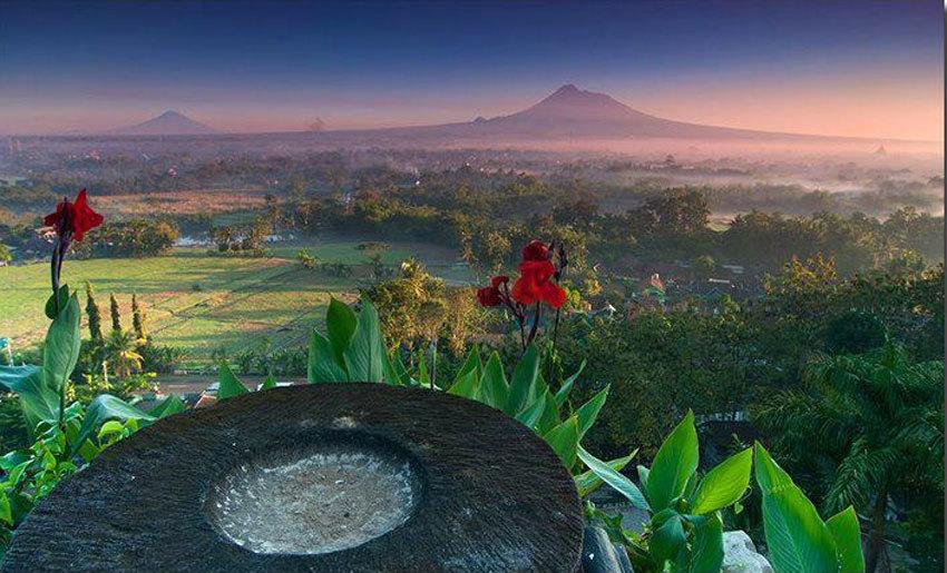 Indahnya Pesona Istana nan Megah di Atas Bukit, Keraton Ratu Boko Yogyakarta