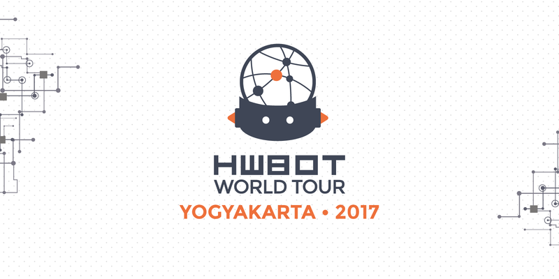 HWBOT World Tour – Yogyakarta 2017