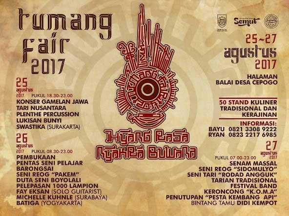 Tumang Fair 2017 yang Meramaikan Hut Indonesia ke 72
