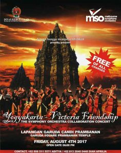 Yogyakarta – Victoria Friendship 'The Symphony Orchestra Collaboration Concert'