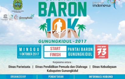 Lomba Lari Baron 10K (Pendaftaran 18 Agustus-25 September 2017)