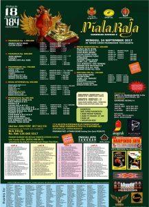 Lomba Burung Berkicau Piala Raja HB X (24 September 2017) By adi adi - 8 August 2017 84