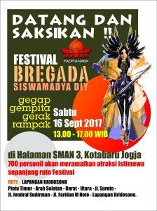 PADMANABA – Festival Bergada Siswamadya DIY (16 September 2017)
