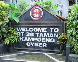 welcome to kampung cyber