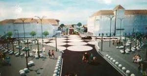 Mobil Dilarang Parkir di Titik Nol Kilometer