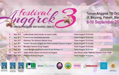 "Festival Anggrek ke 3 ""Vanda Tricolor Var Suavis Lindley"" (6-10 September 2017)"