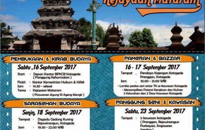 Meriahkan Festival Budaya Kotagede 2017