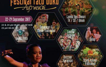 """Festival Ratu Boko """"Ayo Menari"""" (22-24 September 2017)"""