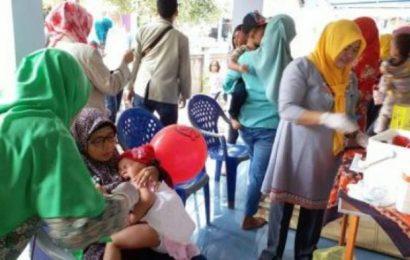 Layanan Imunisasi MR Ramah Anak Puskesmas Kota Yogyakarta