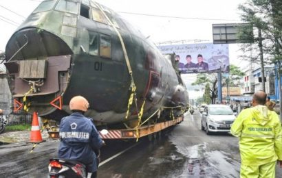 Wow, Pesawat C-130 Hercules A-3010 Akan Jadi Koleksi Baru Museum TNI AU Yogyakarta