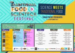 Traditional Food & Scientech Festival (8-10 September 2017)