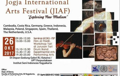 [Event] Jogja International Arts Festival (26 Oktober 2017)