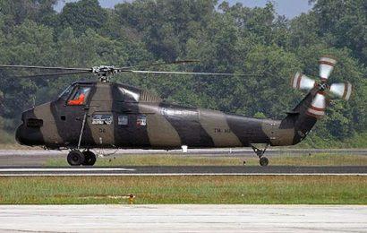 Helikopter S-58T Twin Pac Penghuni Baru di Museum Dirgantara Mandala