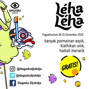 Yogyatorium Dagadu Gelar Program Leha-Leha di Djokdja