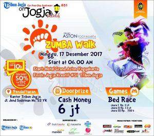 Jangan Lupa, Besok Minggu ada Zumba Walk di Car Free Day Sudirman Jogja Kreatif #51