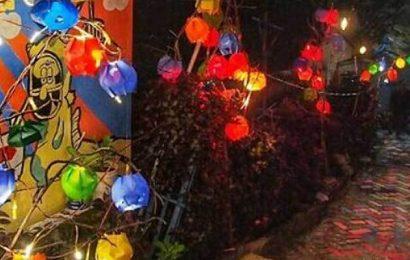 Kampung Ledok Disulap Jadi Kampung Lampion