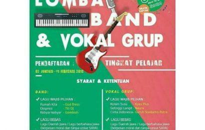 SMM Yogyakarta Gelar Lomba Band dan Vokal Grup