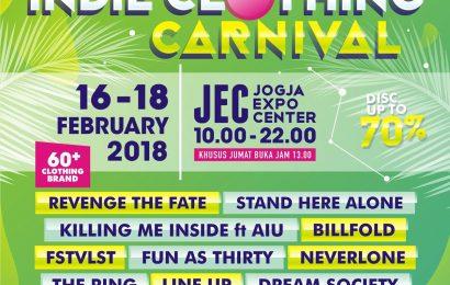 Indie Clothing Carnival Akan Kembali Digelar di JEC