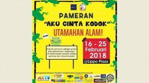 Museum Kolong Tangga Gelar Pameran 'Aku Cinta Kodok' di Lippo Plaza Yogyakarta